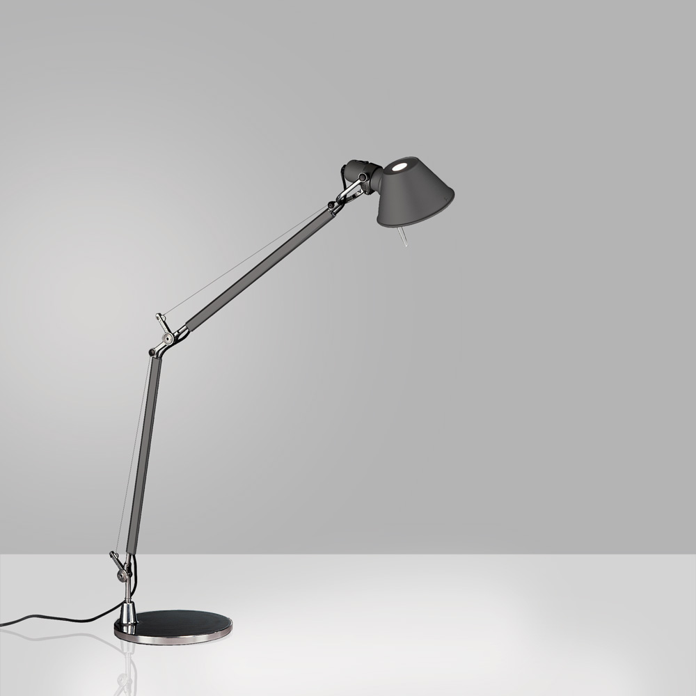 TOLOMEO MIDI LED 9W 30K MP-MV ANTHRACITE W/BASE