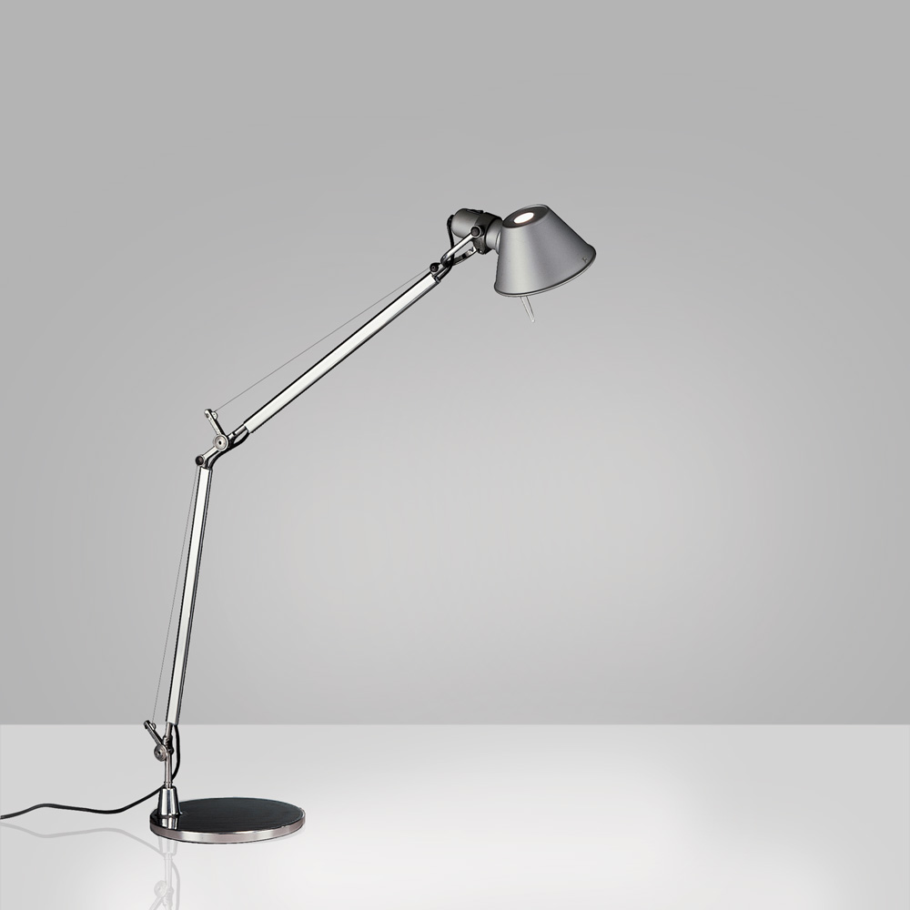 TOLOMEO MIDI LED 9W 30K MP-MV ALUM W/BASE