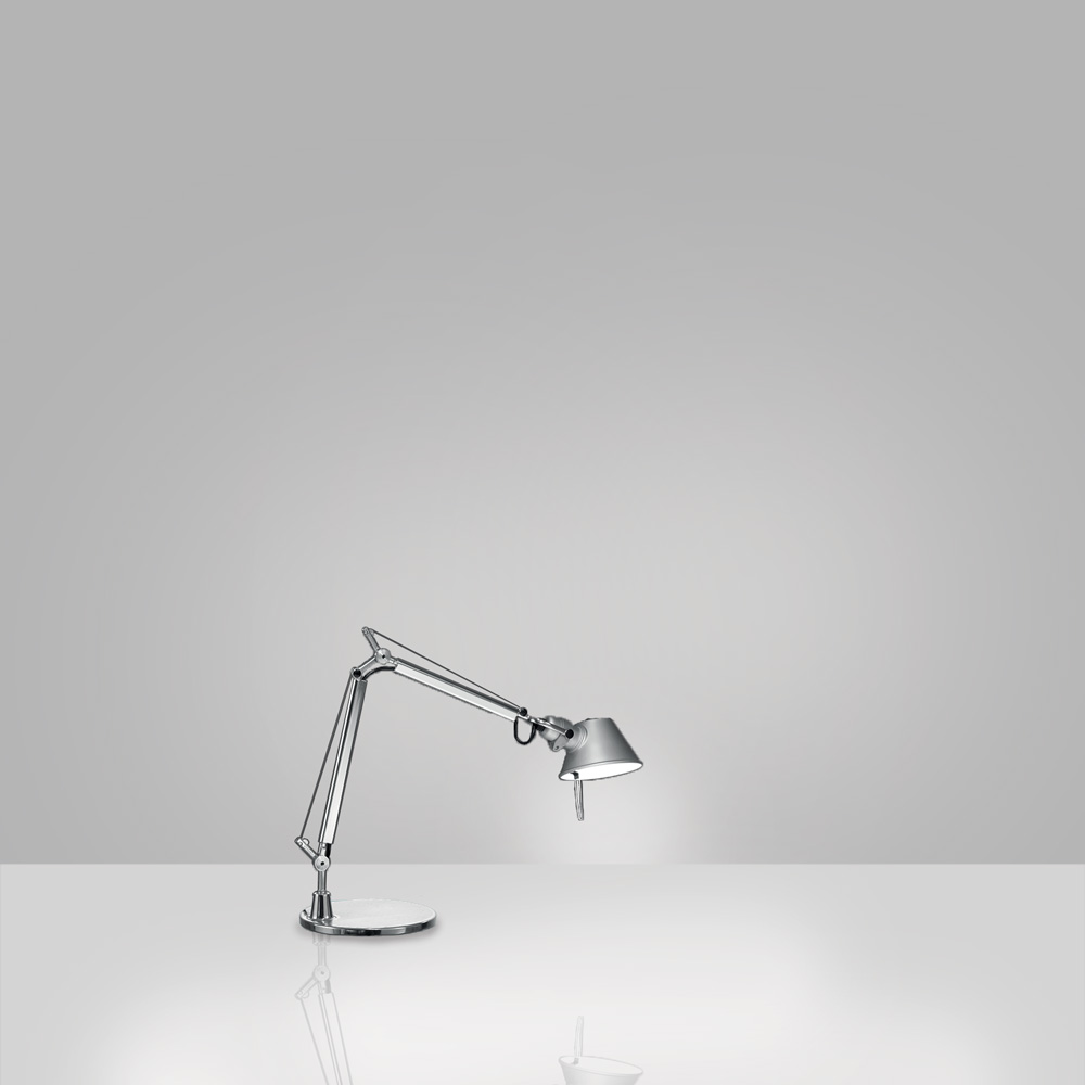 TOLOMEO MICRO LED 8W 30K MP-MV ALUM W/BASE