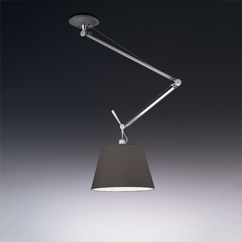 "TOLOMEO OFF-CENTER SUSP W/17"" DIFF BLACK MAX 1X100W"