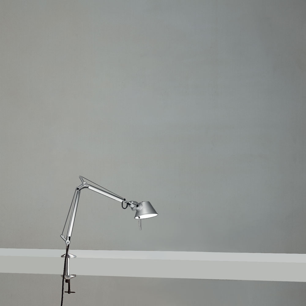 TOLOMEO MICRO LED 8W 30K MP-MV ALU W/CLAMP