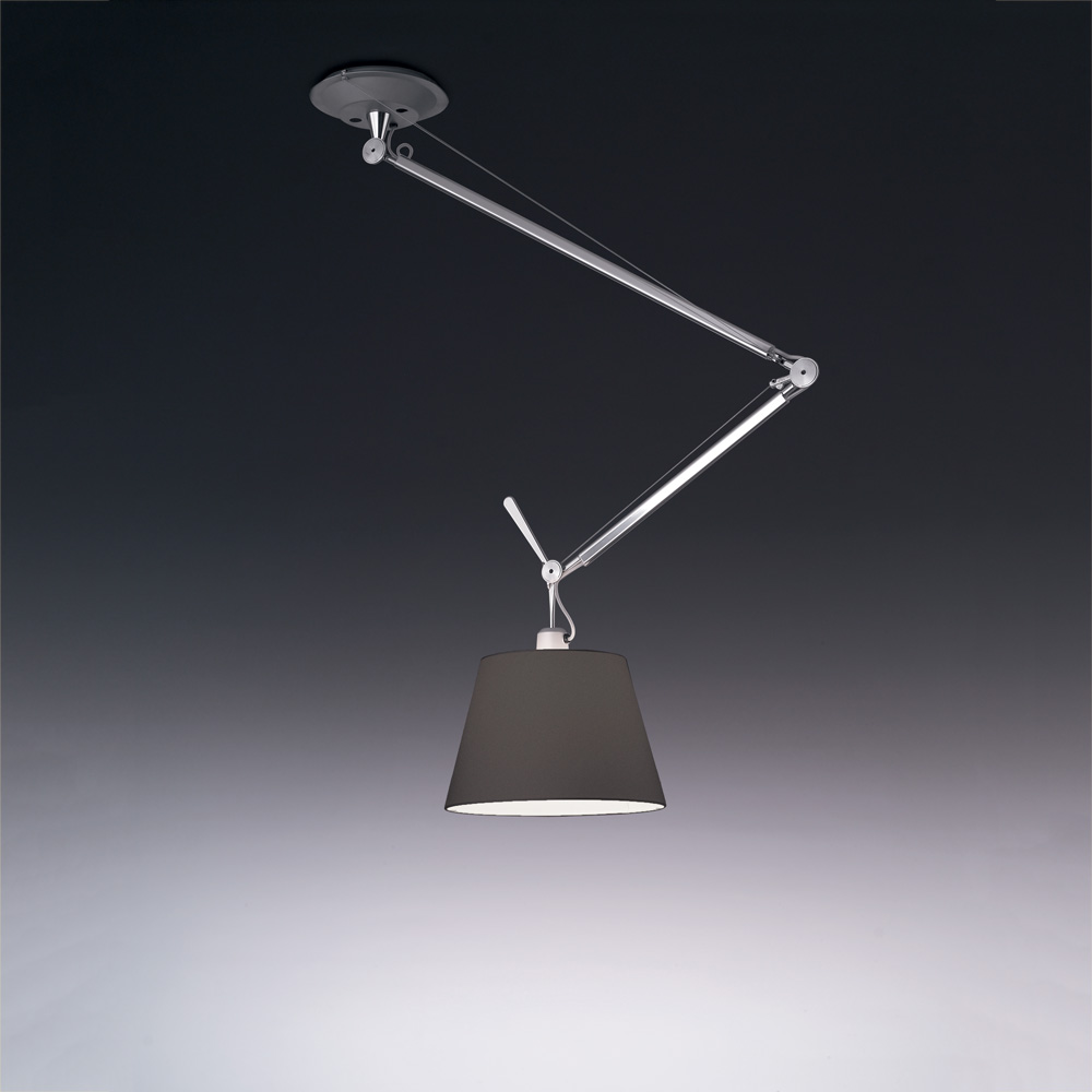 "TOLOMEO OFF-CENTER SUSP. W/14"" DIFF BLACK MAX 1X100W"
