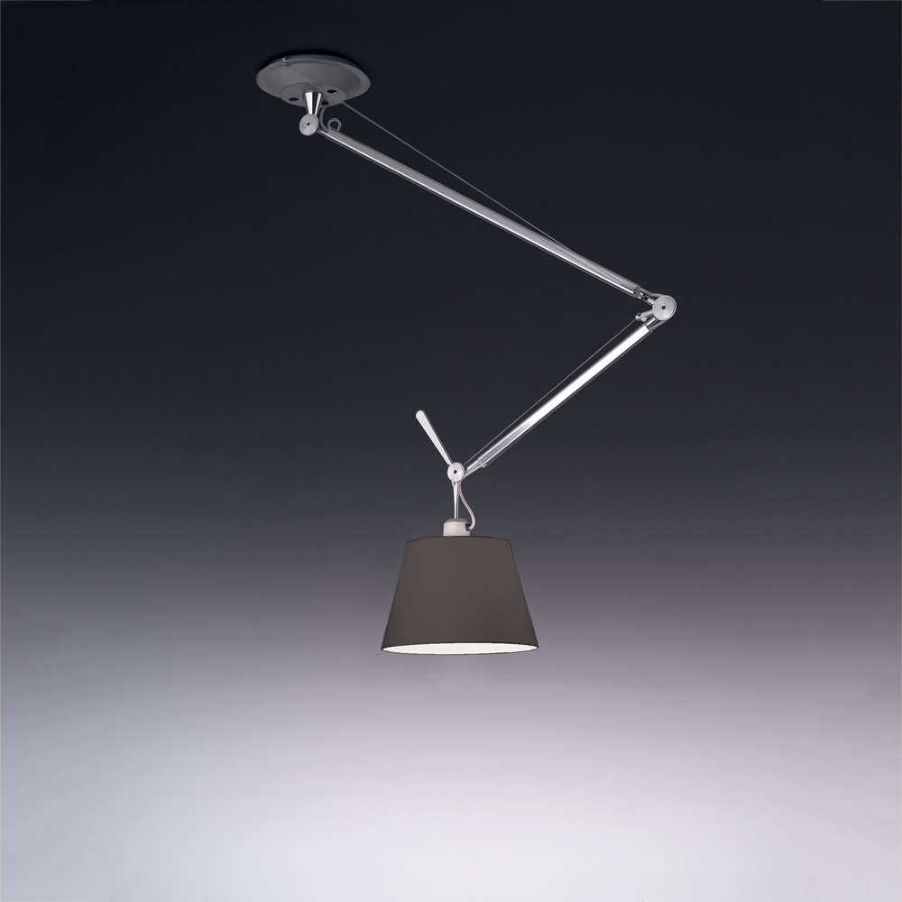 "TOLOMEO OFF-CENTER SUSP W/12"" DIFF BLACK MAX 1X100W"