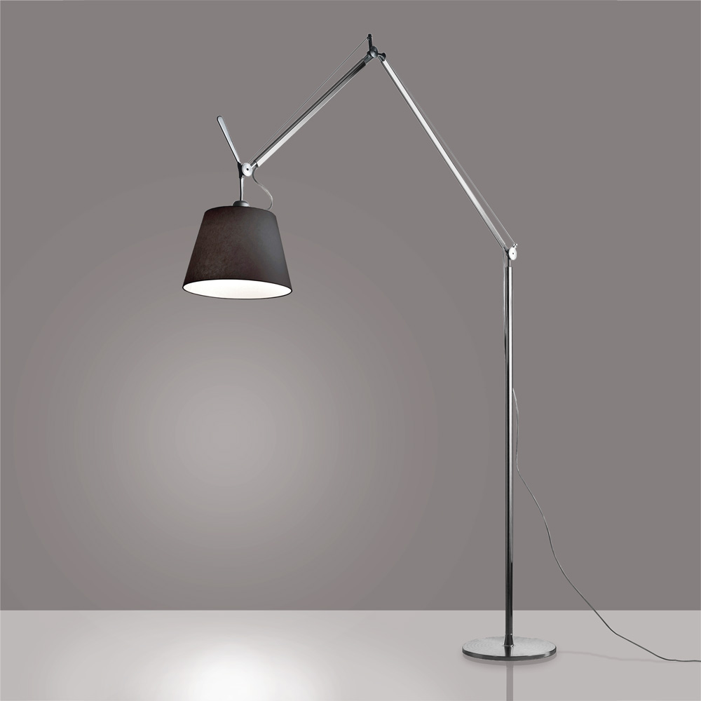 YANZI FLOOR LED 19.9W 30K 90CRI BLACK/YELLOW W/DIMMER