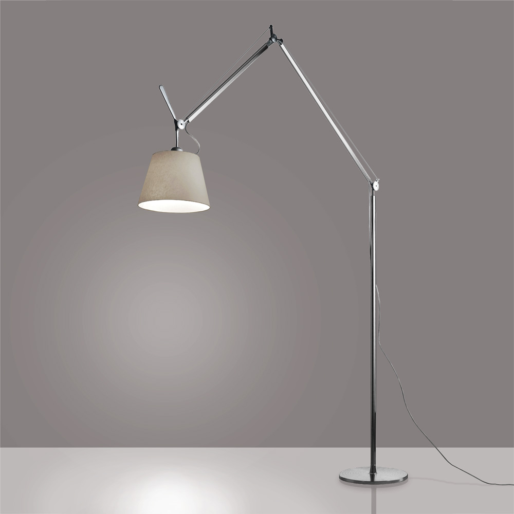 TOLOMEO XXL FLU 2X42W GX24Q-4 ALUMINUM W/FIXED SUPPORT 110V