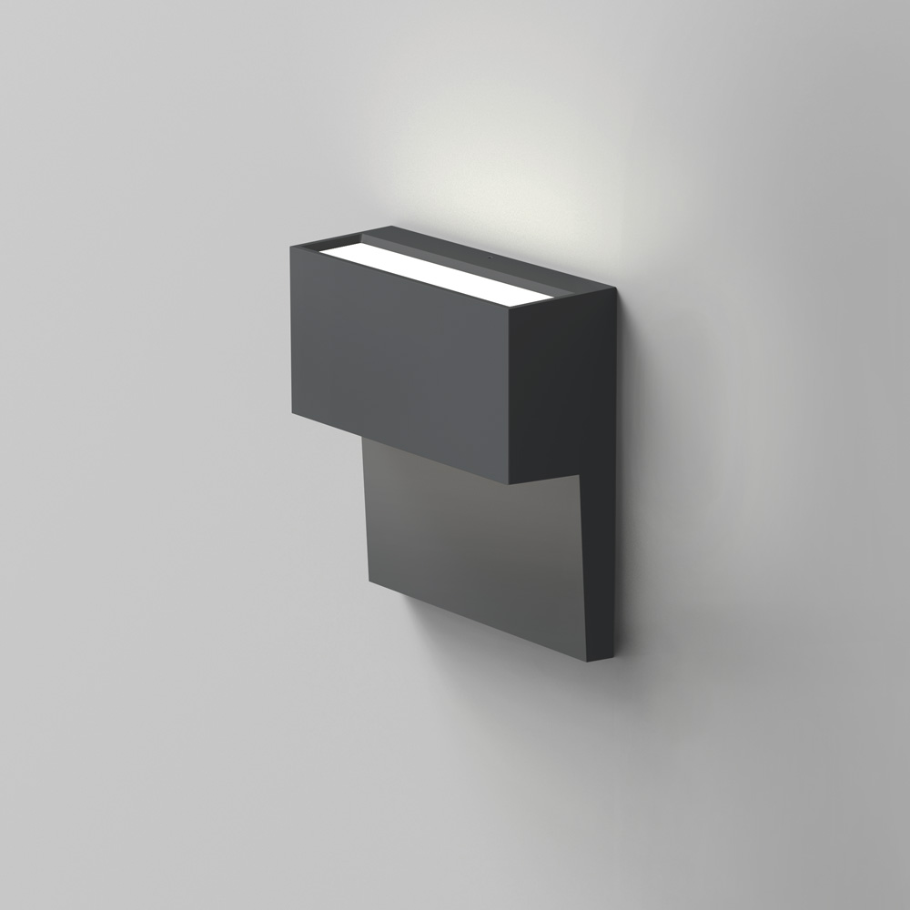 PIANO WALL DIRECT/INDIRECT LED 12W 30K 90CRI DIM 2-WIRE ANTHRACITE