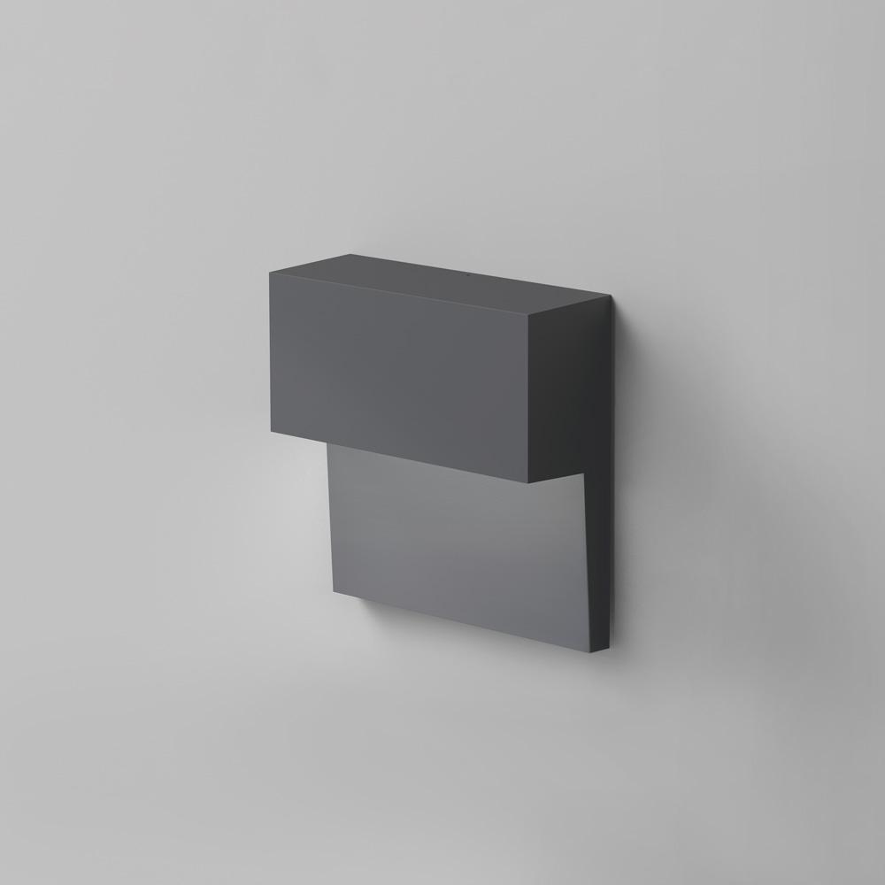 PIANO WALL DIRECT LED 6W 30K 90CRI DIM 2-WIRE ANTHRACITE