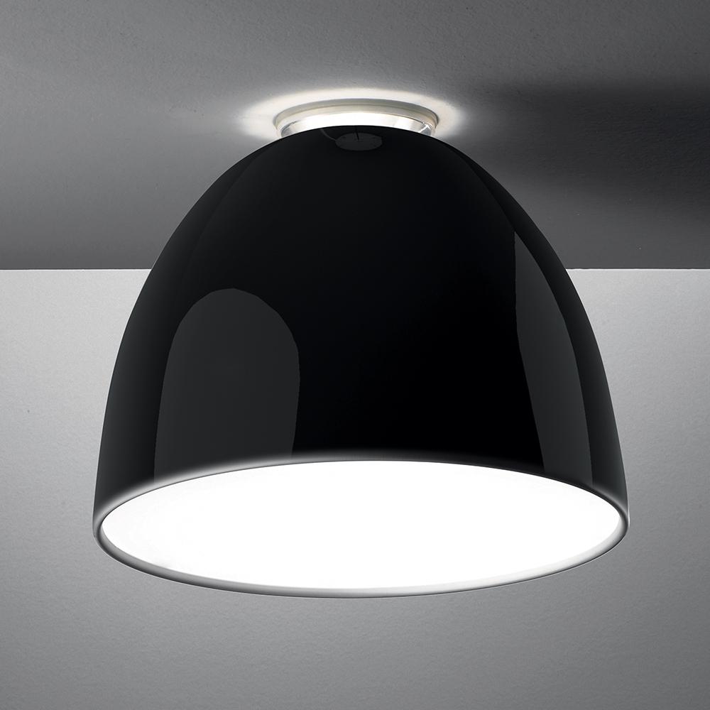 NUR GLOSS CEIL LED 43W 30K DIM 0-10V BLACK UNV UL