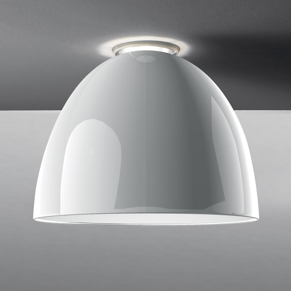 NUR GLOSS CEIL LED 43W 30K DIM 0-10V WHITE UNV UL