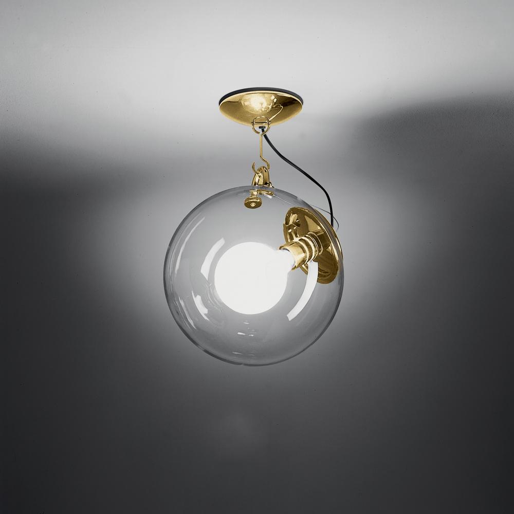 MICONOS CEIL MAX 150W E26 SATIN GOLD