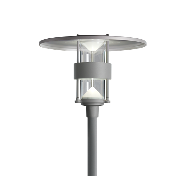 Albertslund-Mini-post-LED-Alu