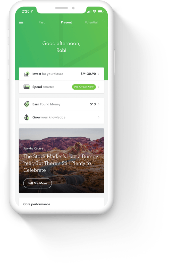 Acorns Mobile App