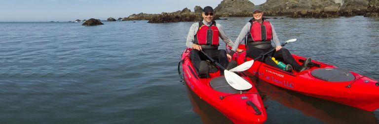Kayak Brookings - Ocean