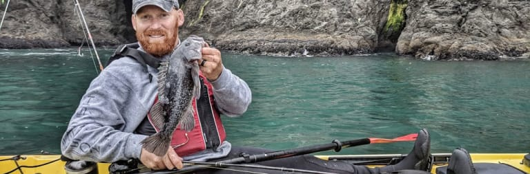 Port Orford Ocean Kayak Fishing Tour