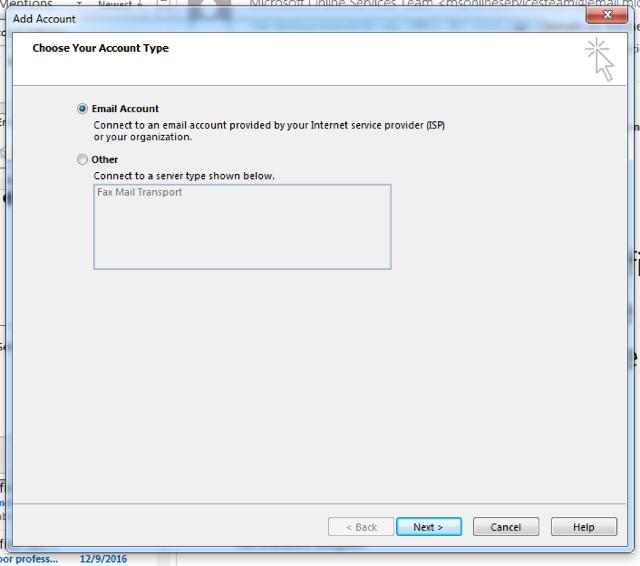 Configure Soverin account in Outlook in screenshots – Soverin