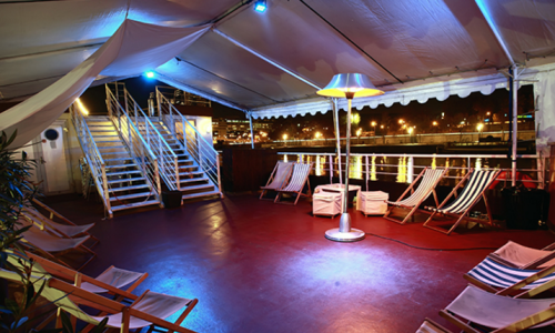 Big event space - Barge - Paris