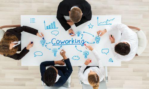 Espacio de coworking luminoso y renovado en Grasse