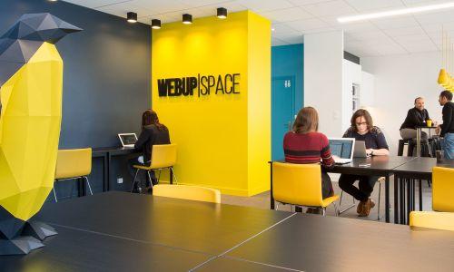 Espace de coworking en open space