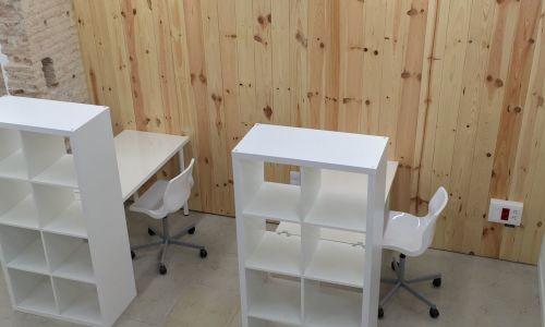 Salles de travail individuelles