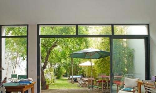Hermoso jardín para eventos privados y profesionales