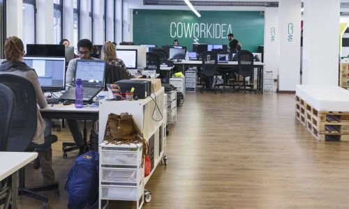 Espace coworking - Grand open space