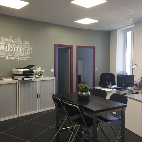 Espace de coworking lumineux et rénové à Grasse