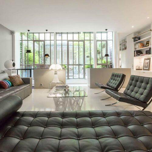Loft made by famous architect
