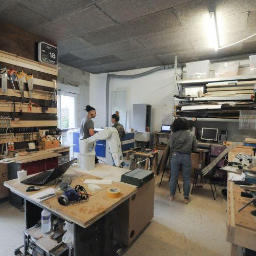 Espace de travail et de création partagé