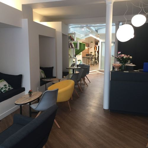 Espace de coworking Montorgueil - privatisation