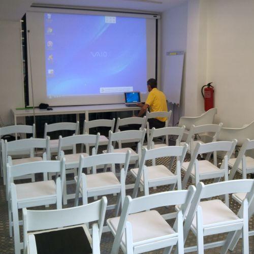 Salle de reunion lumineuse - Quartier de Gracia