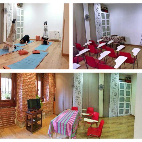 Salle pour les ateliers, cours et formations - Centre de Madrid