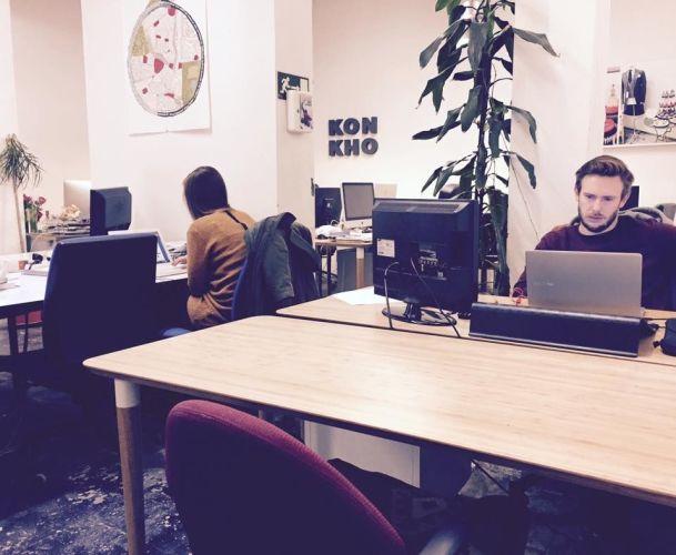 Coworking et salles modulables