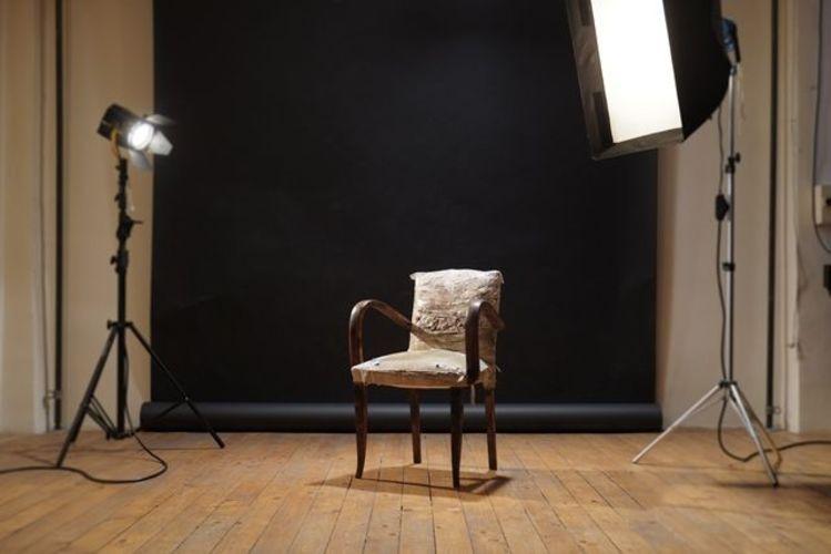 Studio photo dans loft retro