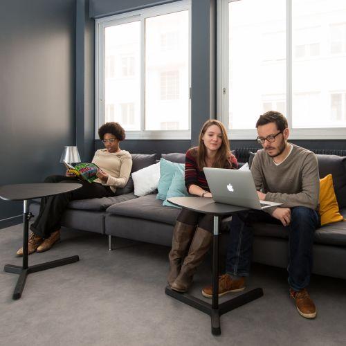 Espacio de coworking en open space