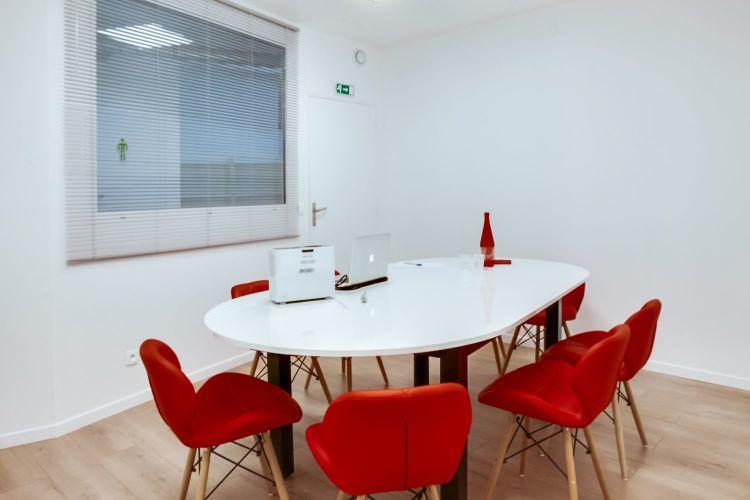 Sala de reunión en el centro del barrio latino París