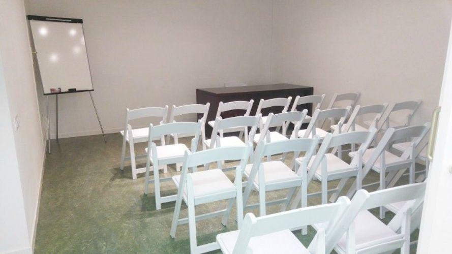 Salle de réunion privée