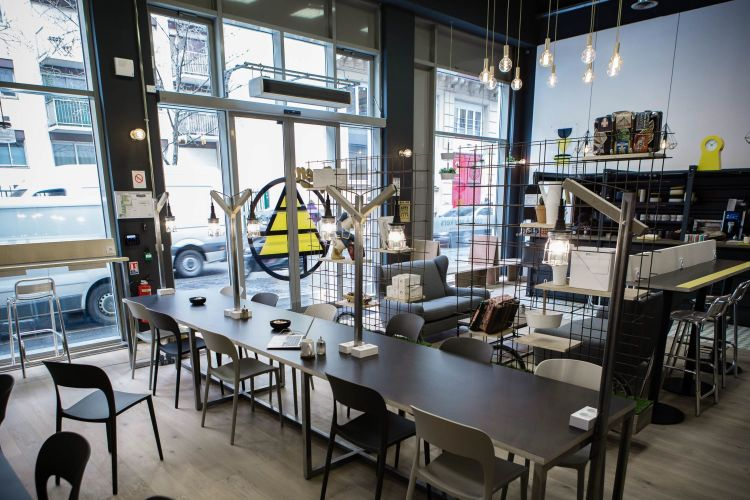 Coworking space design close to Bastille
