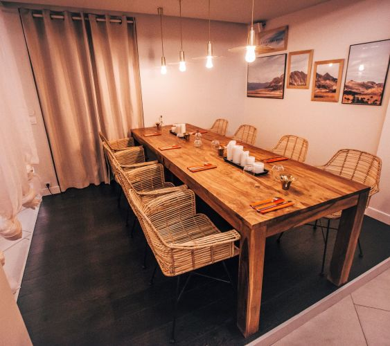 Great event space in a private restaurant