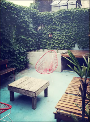 Terrasse privée en plein coeur de Barcelone