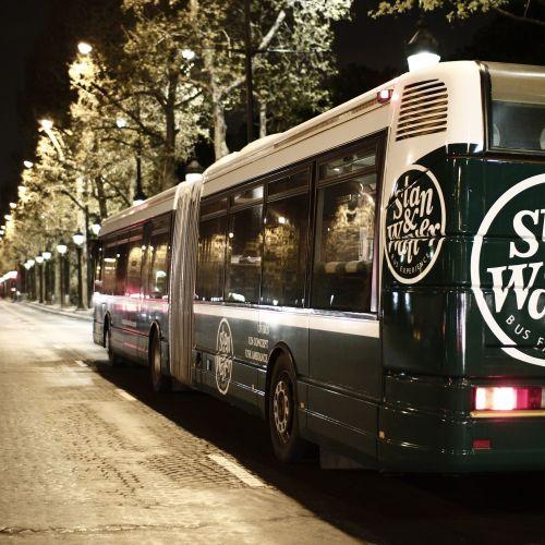 Bus événementiel / Espace de travail / Présentation
