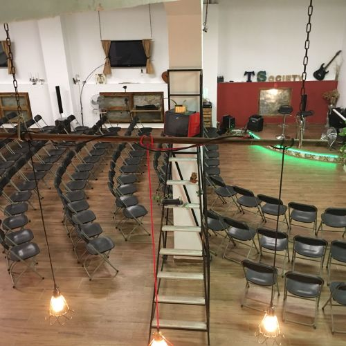 Grande salle pour évènements professionnels