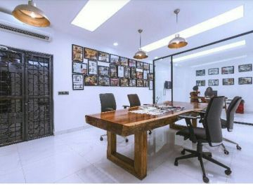 MEETING -Stylish Meeting Room In Ikoyi