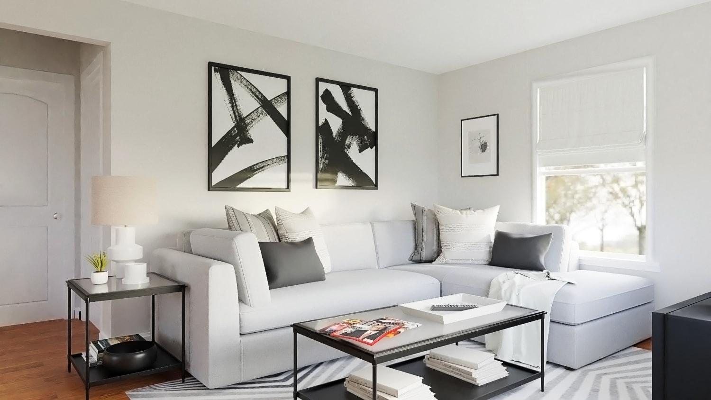 Urban Modern Living Room Sofa