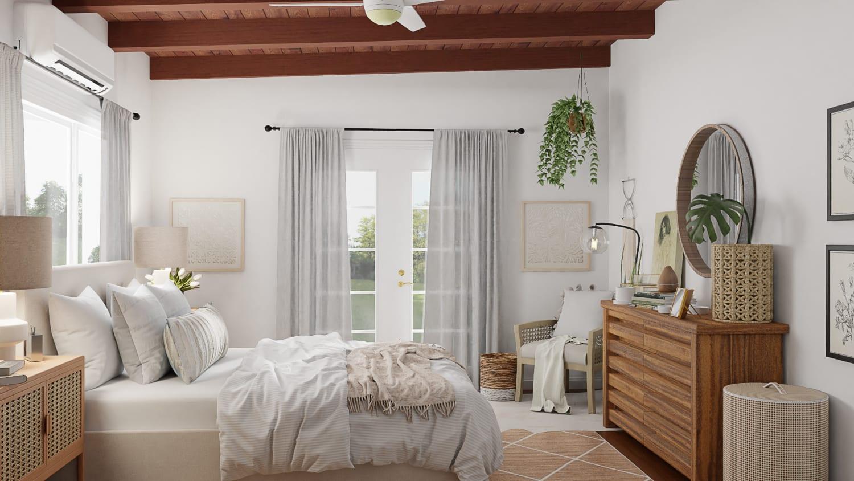 airy spacejoy bedroom design