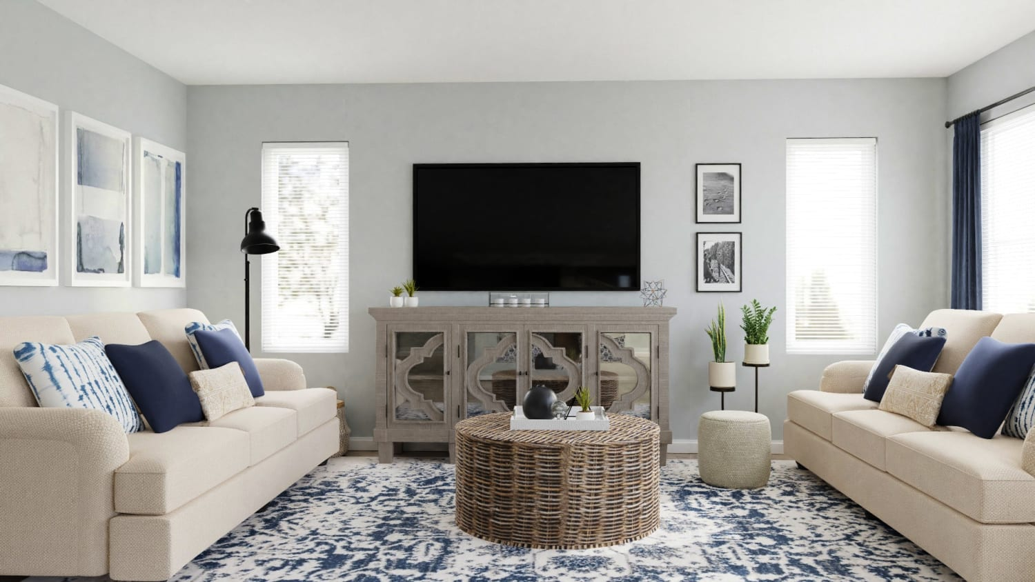 neutral spacejoy living room
