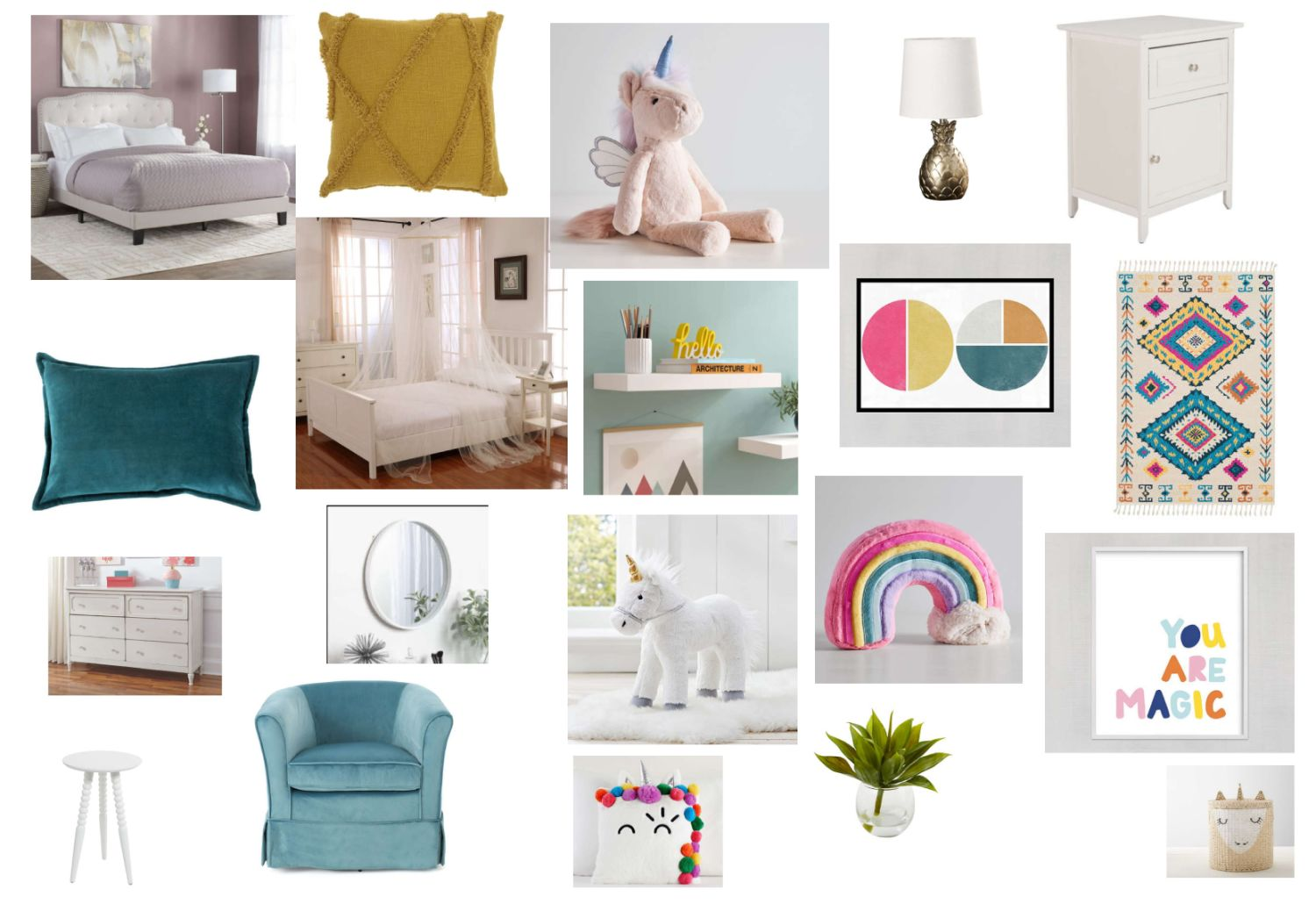 Kid's Bedroom Layout Created For Beltus Ikechi
