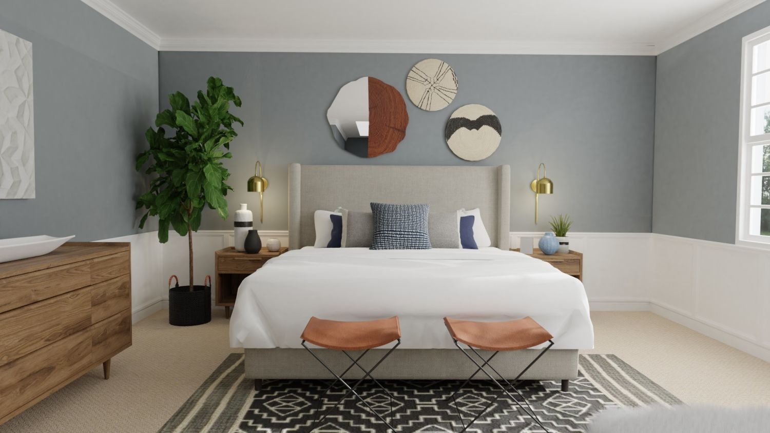 Warm and Inviting: Modern Eclectic Design By Spacejoy