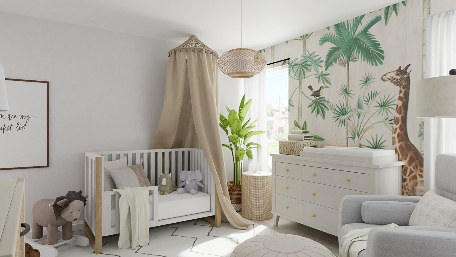 5 Bohemian Boho Themed Baby Boy Nursery Room Decor Ideas Spacejoy