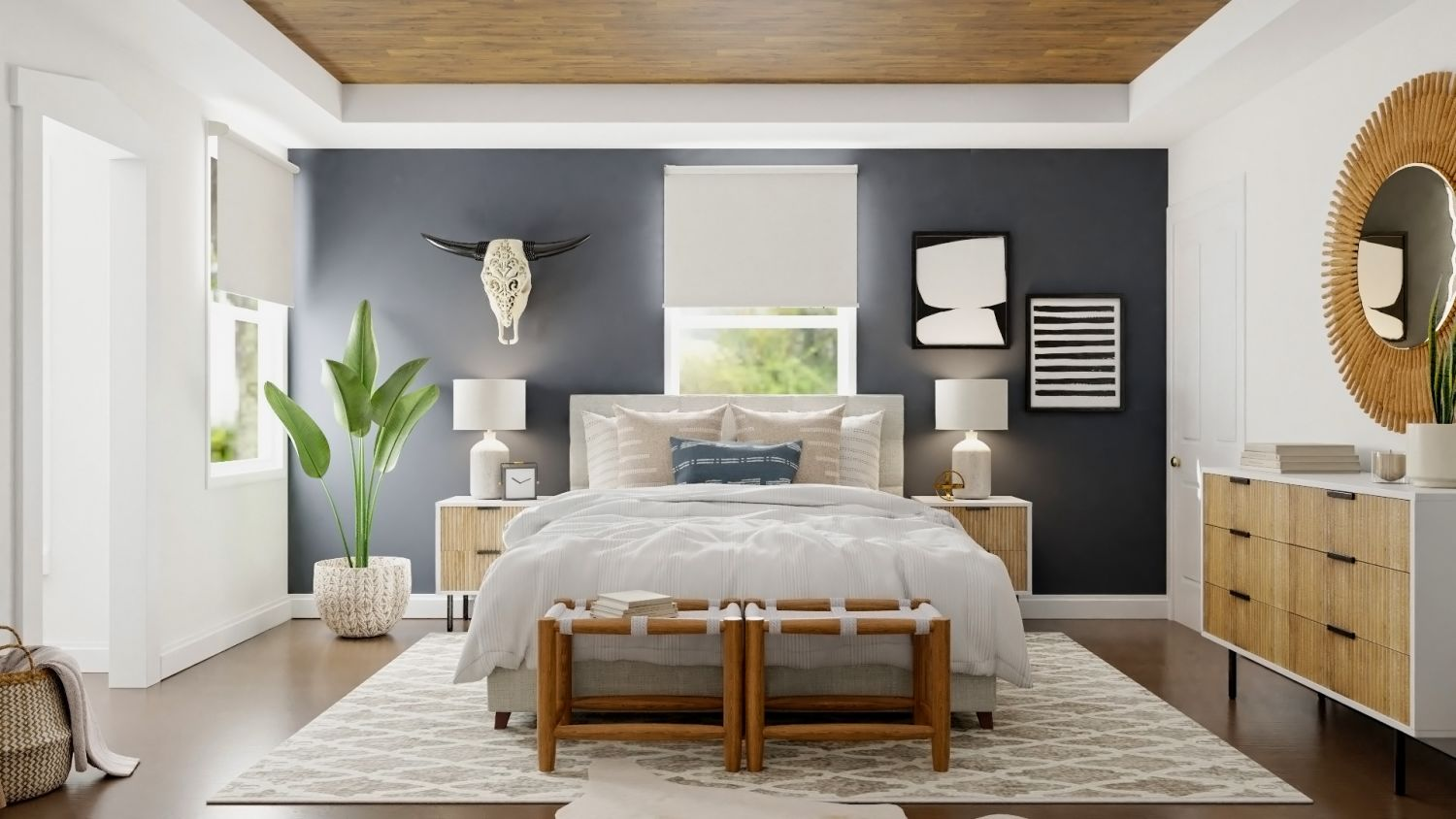 Spacejoy Online Interior Design Bedroom