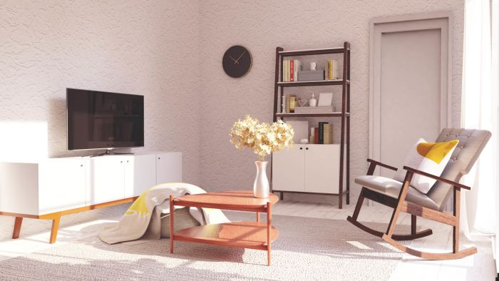 Mid-Century Modern Living Room Design View 3 By Spacejoy